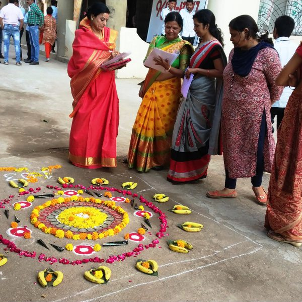 Rangoli And Mehndi Competition